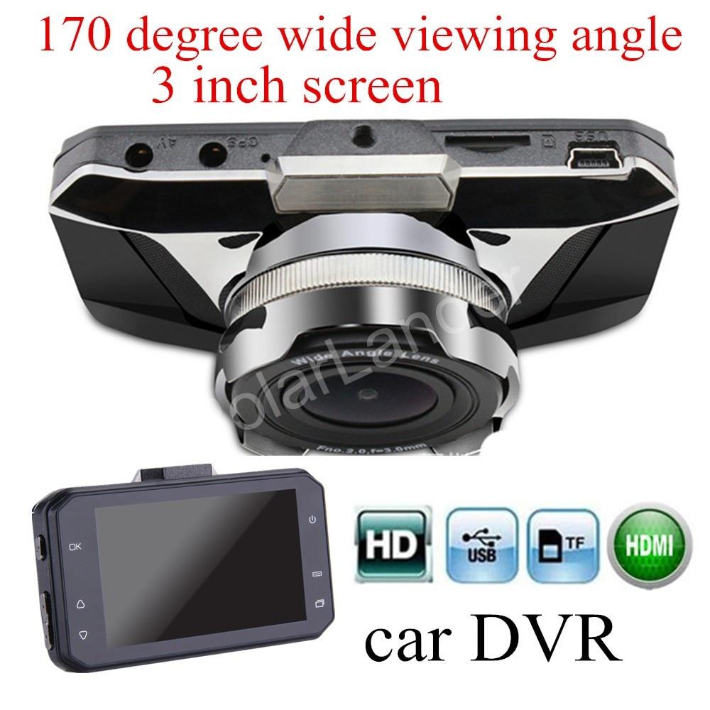 3 inch LCD screen Car Dvr Car Camera Recorder GT2000 Motion Detection Night Vision G-Sensor Dash Cam Black Box