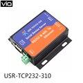 USR-TCP232-310 Бесплатная Доставка Последовательный RS232/RS485 в Ethernet TCP/IP Сервер DHCP и Встроенный Веб-Страницы