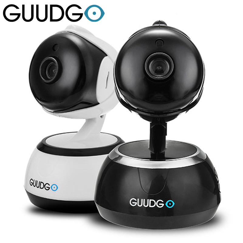 GUUDGO GD-SC02 720P Wifi Camcorder Camera Pan&Tilt IR-Cut Night Vision Two-way Audio Support Cloud Storage Service