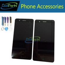 1pc/Lot High Quality For ZTE Blade A510 LCD Display and Touch Screen Digitizer Assembly Replacement Part With Tools Black Color