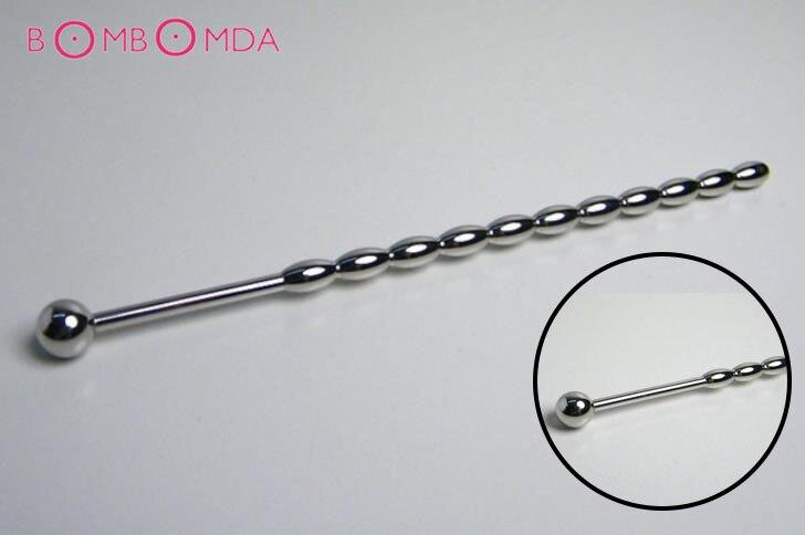 158mm Stainless Steel Penis Plug Dilator Solid Sex Toys Men's Tube Urethral Sound Urethral Dilators,Urethral Plug Horse Eye