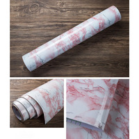Pink Granite Look Marble Effect Contact Paper Film Vinyl Self Adhesive Peel stick Counter Sticker 1.22x3m/48x10ft