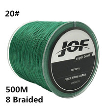 20 500M 8 Braided Super Strong Line 0 9MM 200LBS 90KG Multifilament 100 PE 8 Strands