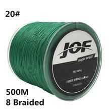 20 #500 м 8 Плетеный супер сильной линии 0.9 мм 200lbs 90 кг Multifilament 100% ПЭ 8 Пряди Рыбалка линия Рыбалка Провода # C0
