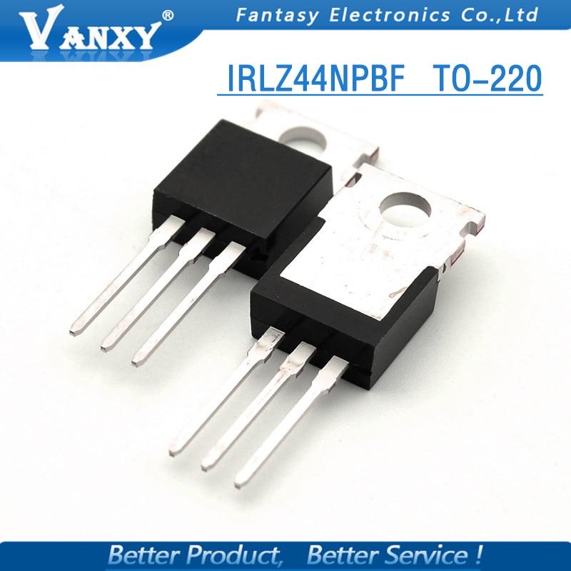 10PCS IRLZ44N TO-220 IRLZ44 TO220 IRLZ44NPBF