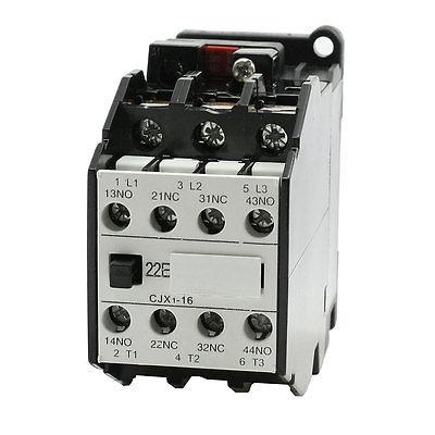 цена на 380V/50Hz 460V/60Hz Coil 2NO 2NC Circuit AC Contactor CJX1-16A Ui660V Ith31.5A