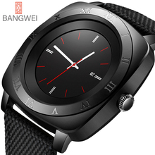 LIGE 2018 New Brand Smart watch Men IP67Waterproof Military Sport Digital Mens Casual Nylon Clock Relogio Masculino