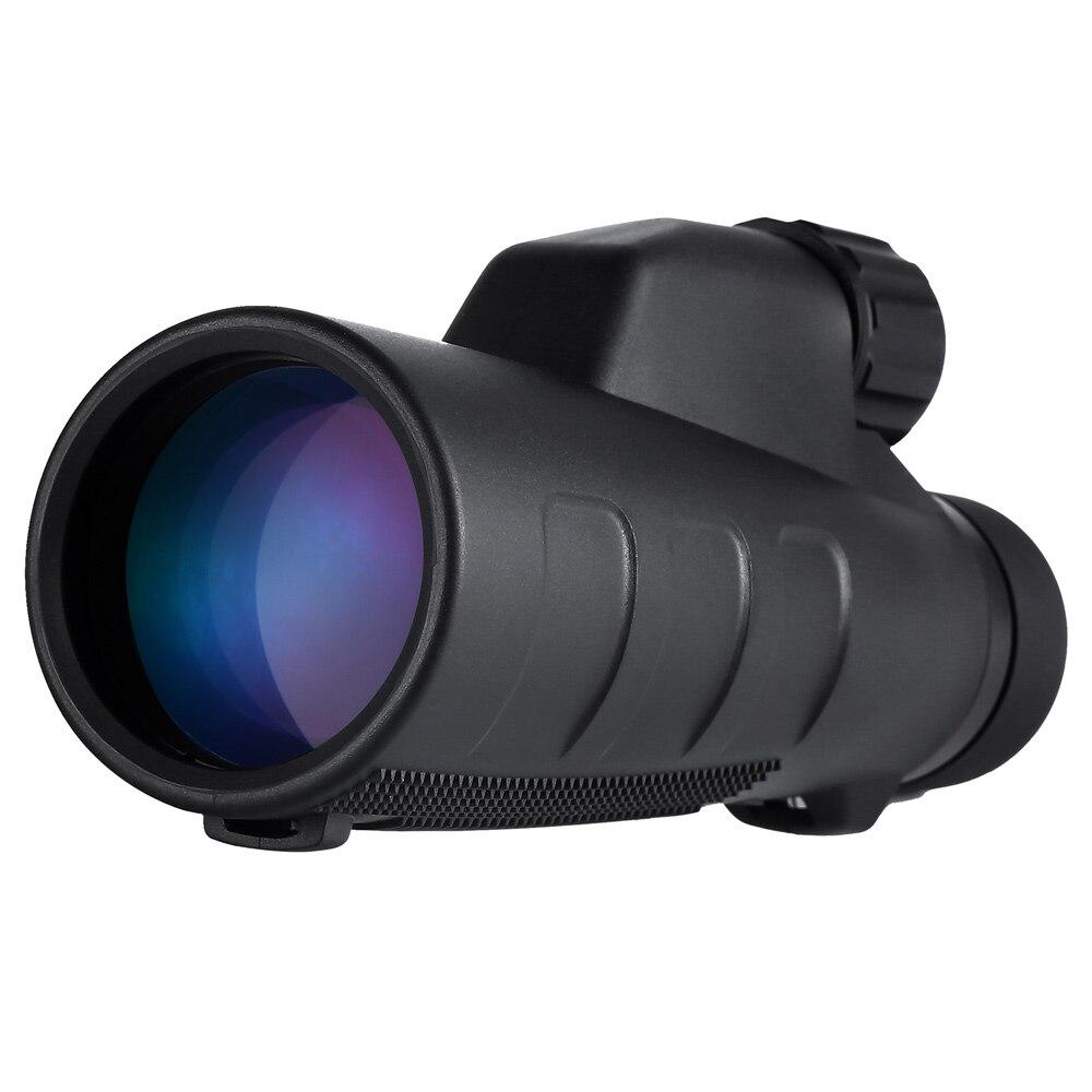 EYESKEY HD 12x50 Monoculaire Étanche Qualité pour la Randonnée Télescope Haute Puissance Monoculaire avec BaK4 Prisme Optique En Gros