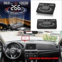Car HUD Safe Drive Display For Mazda CX 5 CX 5 CX5 2012 2015 Refkecting Windshield