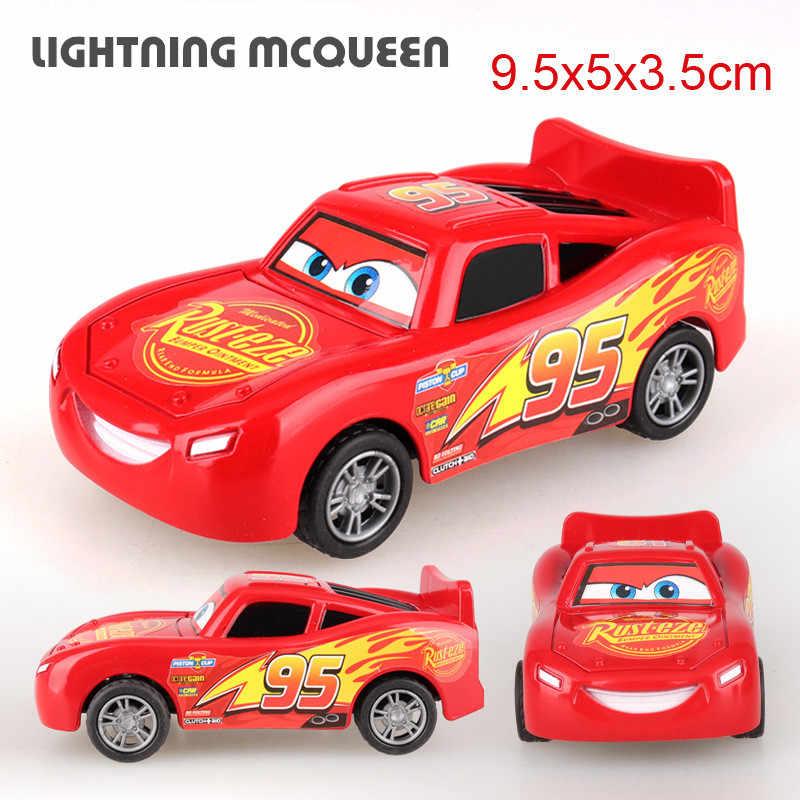 Disney Pixar Cars 3 ABS Mainan Mobil Lightning McQueen Menarik Kembali Mobil Jackson Badai Cruz Model Mobil Mainan Anak-anak untuk anak-anak