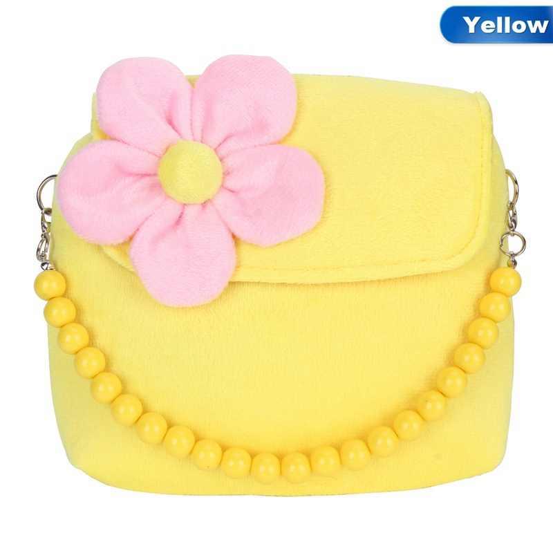 ... Fashion Shoulder Bag Kids Children Girls Princess Flower Messenger  Handbag Lovely Purses ...