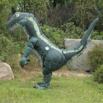 2018 New Fashion Green Dinosaur Style Inflatable Clothes Inflatable Suit Party Performance Cosplay Performance Costumes