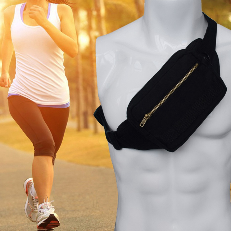 Men Women Bag Adjustable Hip Bum Bag Chest Bag Outdoors Workout Travel Casual Hiking Cycling Fanny Pack Running Pack