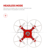 FQ777 124 Micro Pocket Drone 4CH 6Axis Gyro Switchable Controller Mini Quadcopter RTF Kids Toys VS JJRC H37