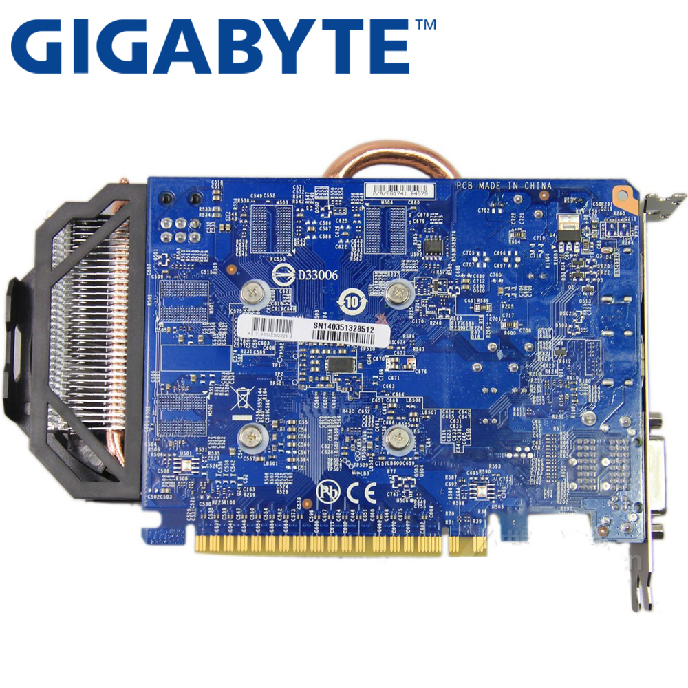 GIGABYTE GTX 750 ti 2gb Graphics Card 128Bit GDDR5 Video Cards for nVIDIA