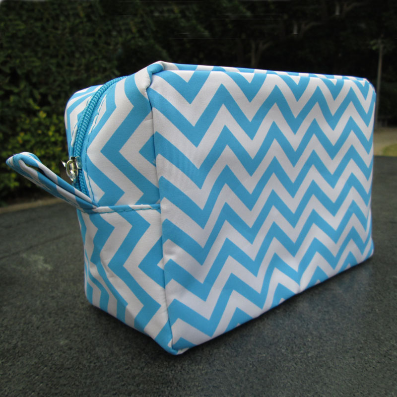Wholesale Blanks Chevron Cosmetic Bags Zig Zag Makeup Bag Toiletry Bags  with Various Colors with Free Shipping DOM103001-in Cosmetic Bags   Cases  from ... acaec098bd8ff