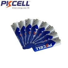 8 adet PKCELL 1.5V FR6 L91 AA LiFeS2 fr14505 pil 3000MAH 14.5*50.5MM için 15 yıl cep telefonu, walkman, kamera