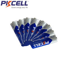 8pcs PKCELL 1.5V FR6 L91 AA LiFeS2 fr14505 סוללה 3000MAH 14.5*50.5MM 15 שנים עבור נייד טלפון, ווקמן, מצלמה