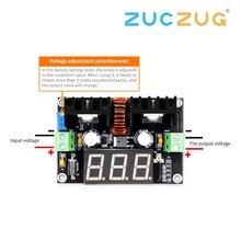 XL4016 LM317 LED dijital voltmetre voltaj regülatörü metre XL4016E1 DC DC Buck adım aşağı modülü 200W 8A PWM 4 40V için 1.25 36V