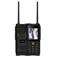 Ioutdoor T2 IP68 Водонепроницаемый 2,4 »4500 mAh UHF Walkie Talkie bluetooth Две сим-карты Особенности телефон Радио-Антенна Крытый Открытый