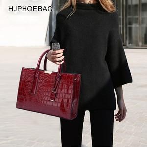 Image 5 - Fjphoebag جديد التمساح نمط المرأة حقيبة يد المرأة حقيبة ساع حقائب كتف Crossbody المرأة حقيبة يد جلدية YC196
