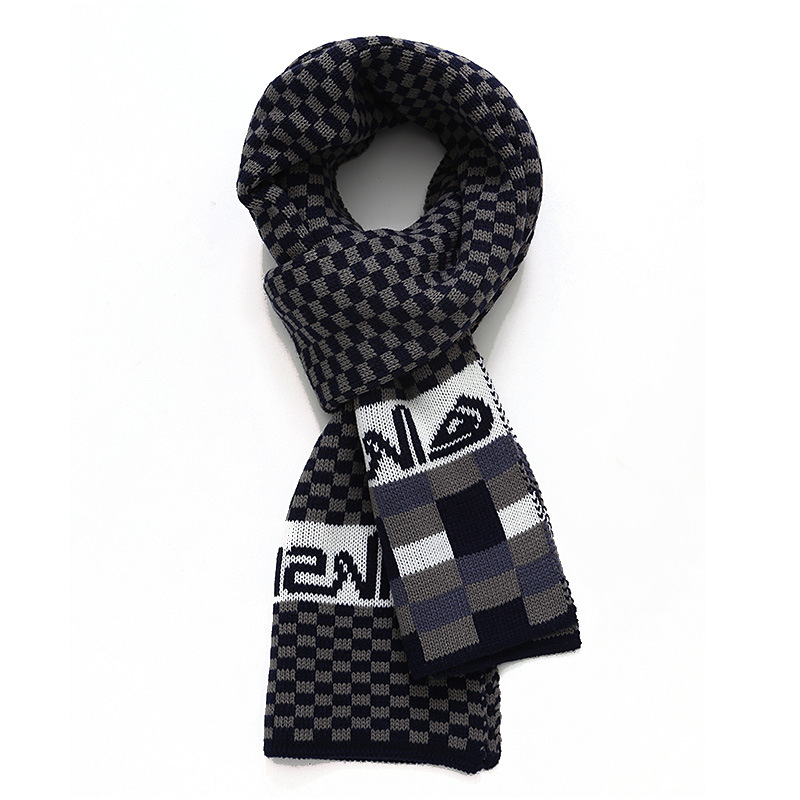 Classic Design Male Scarf plaid classic font b tartan b font scarf Winter Striped scarves For