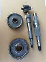 CF250T 3A Шестерни комплект CH250 CN250 Шестерни вал ATV 172 мм V3 V9 Тип с водяным охлаждением двигателя Запчасти SDC CF250 V3 Прямая доставка