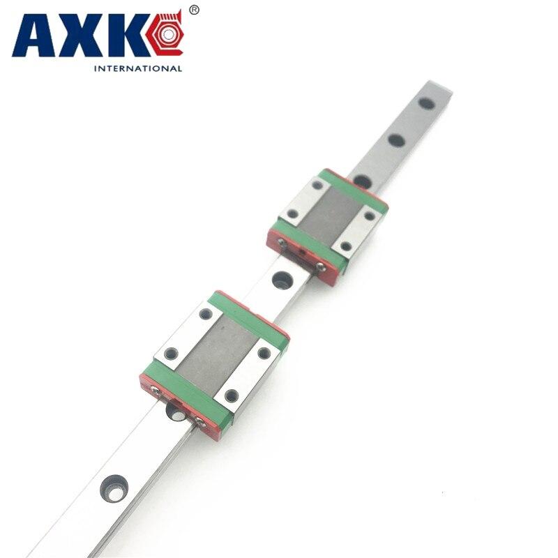 2 pcs 12mm linéaire guide MGN12 L 700mm linéaire rail avec 4 pcs MGN12H chariots linéaires bloc pour CNC DIY et 3D imprimante XYZ cnc