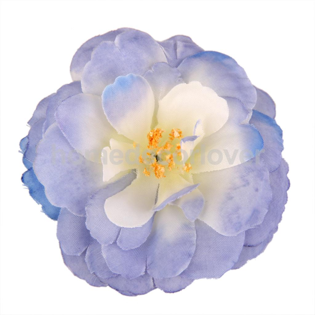 10pcs 6cm Camellia Artificial Silk Flower Rose Heads Wedding Diy