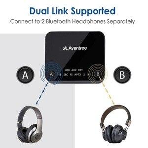 Image 2 - Avantree Audikast aptX Low Latency Bluetooth Audio Transmitter for TV PC (Optical Digital Toslink, 3.5mm Aux, RCA, PC USB) 100ft