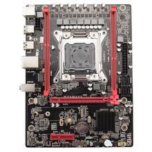 X79M Motherboard M.2 Desktop Computer Cpu Set LGA2011 E5 2680 v2 USB3.0 SATA3 PCI-E NVME SSD Xeon processor 64GRAM