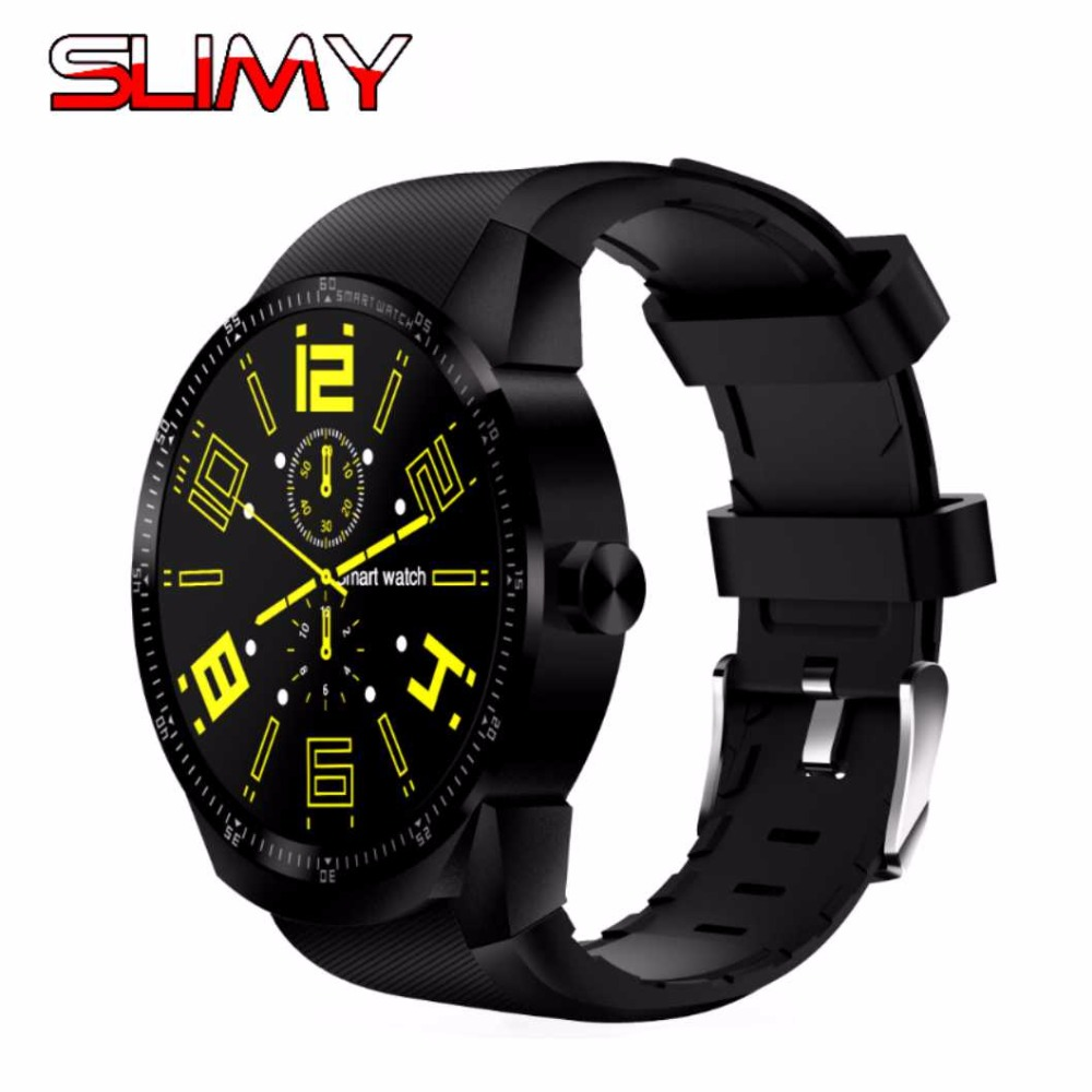 Slimy K98H SIM Smart Watch Heart Rate Monitor Smartwatch Android 4.4 MTK6572A Pedometer Bracelet with 3G GPS Smartwatch Stock slimy k98h sim smart watch heart rate monitor smartwatch android 4 4 mtk6572a pedometer bracelet with 3g gps smartwatch stock