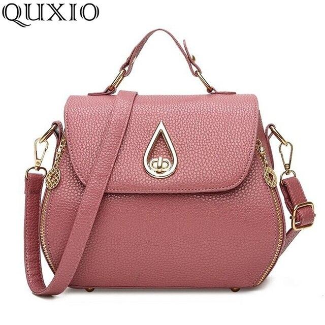 2017 New Woman Handbags Trend Leather Messenger Bags Luxury Women Fashion Designer Pendant Shell