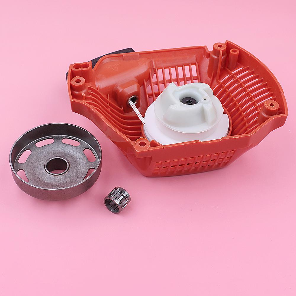 Recoil Rewind Pull Starter For Husqvarna 435 440  325inch 7 Teeth Clutch Drum Bearing Chainsaw Spare Replace Part