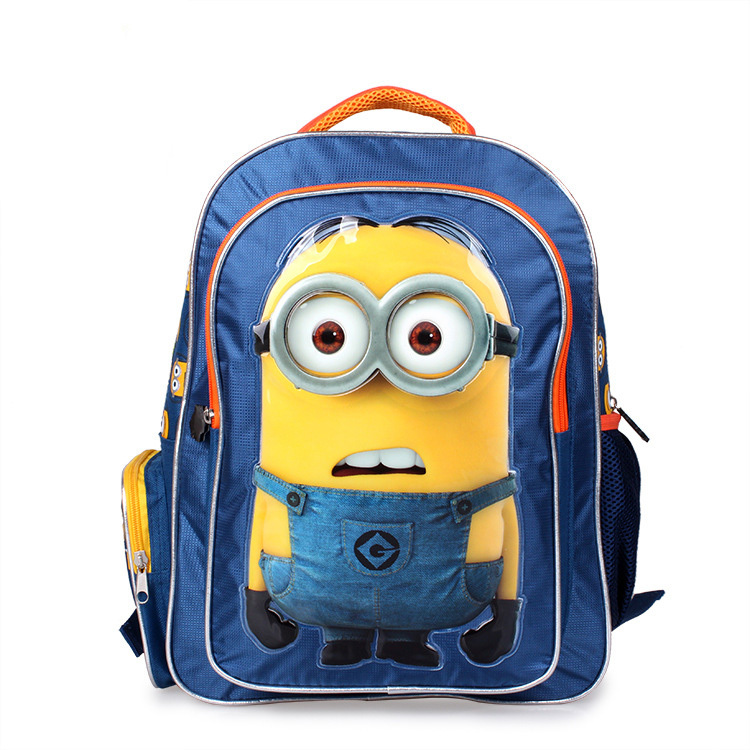 2015 emoji backpack minion Children School Bags backpack minions ...