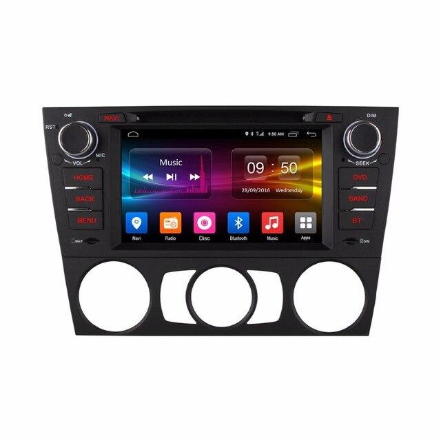 Lecteur DVD de voiture BMW E90 E91 E92 E93 | HD Core, Android 6.0, séries 3, Radio GPS, Navigation, 2 go de RAM, 4G, SIM LTE, WIFI