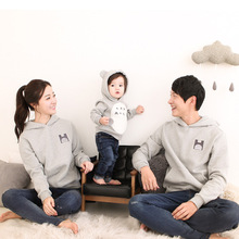 Father Son Pullovers Familly Look Mommy and Me Clothes Dad a