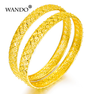 WANDO 24k Gold Bangle Dubai...