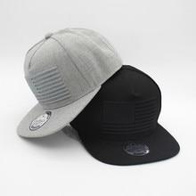 23bbfd17 Best Sale Raised flag embroidery cool flat bill baseball cap mens gorras  snapbacks 3D flag hat