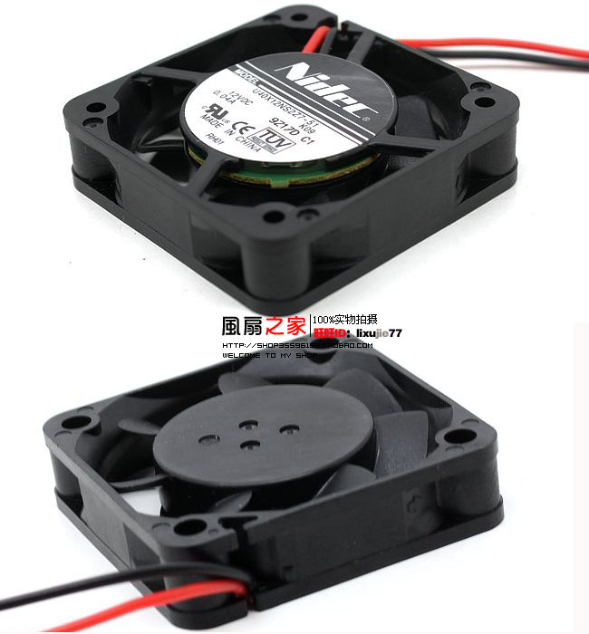 Nidec U40X12NSZ7-51 K09 DC 12V 0.04A 40x40x10mm Server Square fan