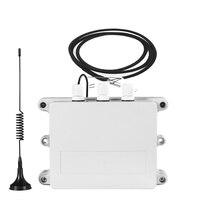 Регистратор данных в режиме реального времени Температура мониторинга сигнализации запись реле Управление by Caller ID SMS GPRS с 4 DS18B20 Температура