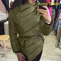 Durable winter jacket women PLUS SIZE Women Warm Winter Cotton+Polyester Coat Long Sleeve Irregular Jacket Outwear