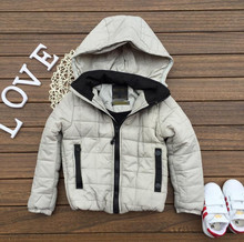 The new boy coat and cashmere jacket jacket cap warm fashion leisure style special offer. free shipping
