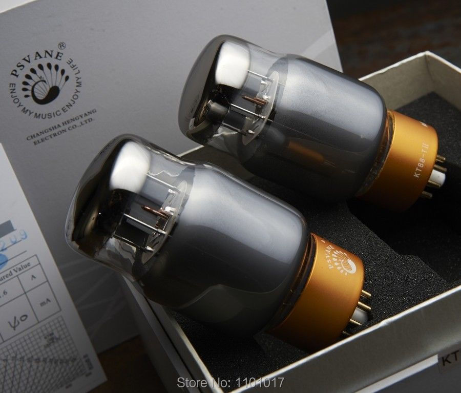 PSVANE KT88-TII Vacuum Tube MARK TII Series HIFI EXQUIS Factory Matched KT88 Electron Lamp купить недорого в Москве