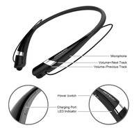 COULAX Headphones 4 1 Bluetooth Headset Neckband Bluetooth Earphone With Microphone Sport Earphone For IPhone Android