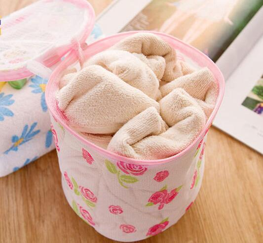 Different Quality Printing Mesh Bra Washing Protector Underwear Laundry Wash Bag Home Bathroom Laundry Products