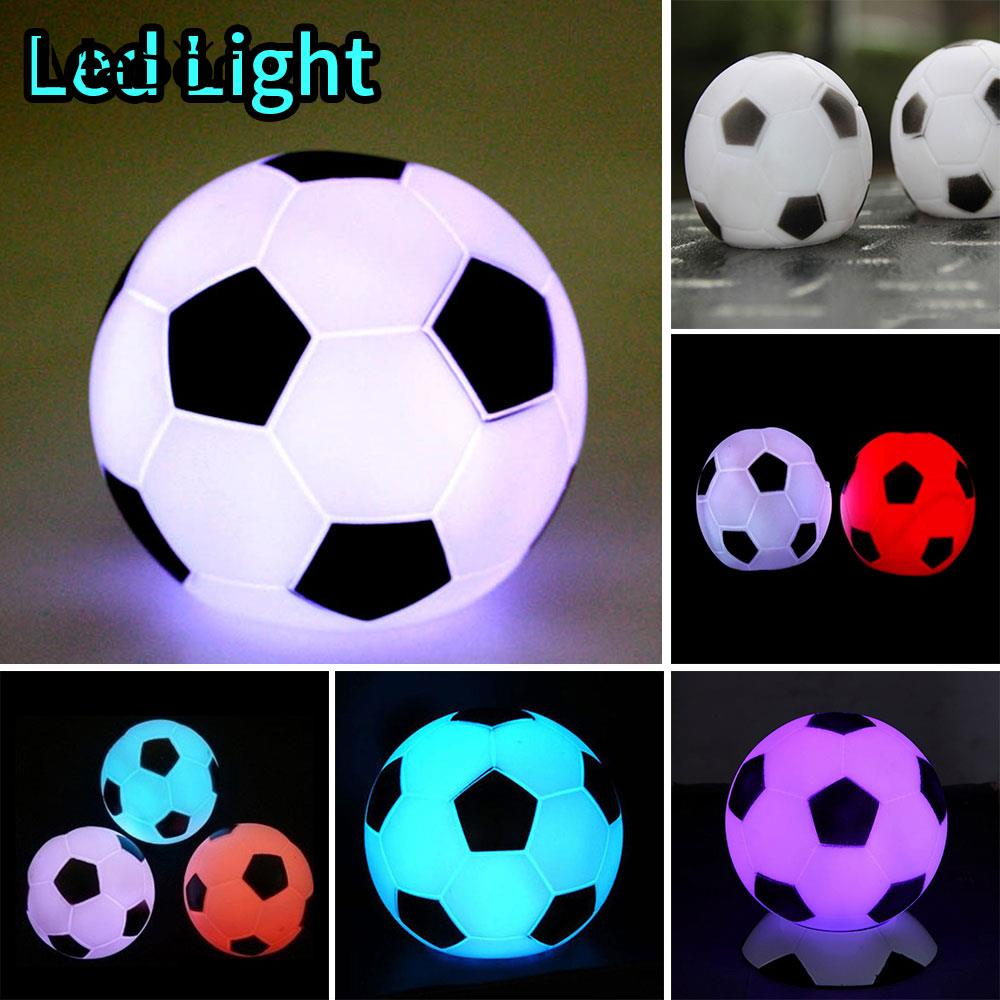 Modern Colorful Football LED Night Light Shape Light Lamp For Children Gift Night Party Decoration Gift Christmas Supply For Kid