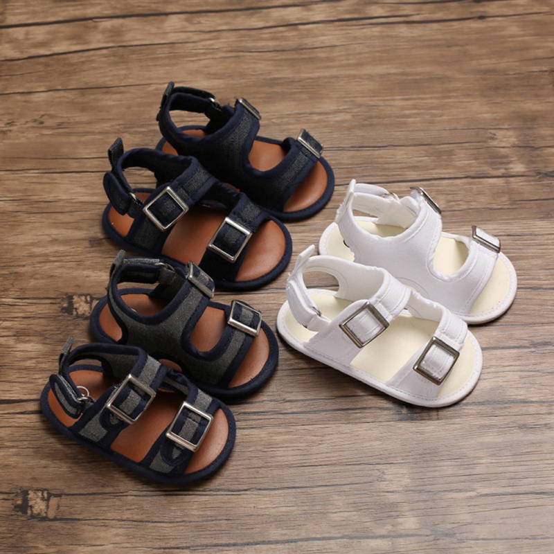 Cotton New Baby Moccasins Child Summer Boys 3 Style Fashion Sandals Sneakers Infant Shoes 0-18 Month Baby Sandals