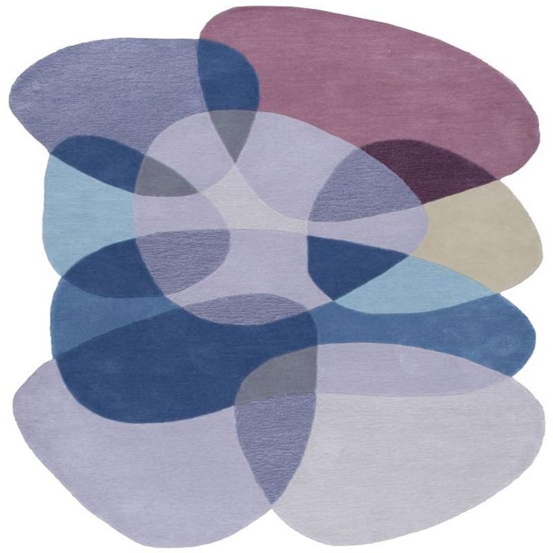 Высокое качество разноцветный нерегулярные гостиная кофе стол ручной работы ковры стильные ковры для спальня