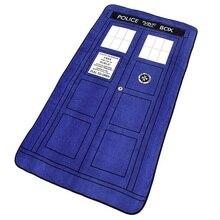 226*127 см Доктор Кто Косплей одеяло s ТАРДИС коралловый флис Косплей ковер полицейская коробка одеяло синий простыня